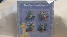 Disney 4 Pin Tinkerbell Set 2010 Eat My Dust Fly By Attitude Totally Tink   dp74