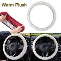 Protection Anti-Slip Car Steering Wheel Cover Soft Warm Plush Pearl Velvet