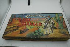 VINTAGE THE Lone Ranger CHASE BOARD GAME PETER PAN COMPLETE