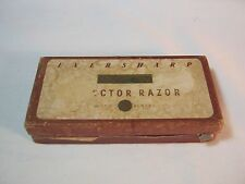 EVERSHARP SCHICK INJECTOR SAFETY RAZOR BOX     (BOX ONLY)                  T*
