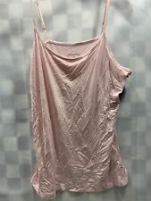 Merona Pink Strap Top Women's Size L