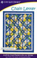 Chain letter Quilt pattern - Cozy Quilt Designs