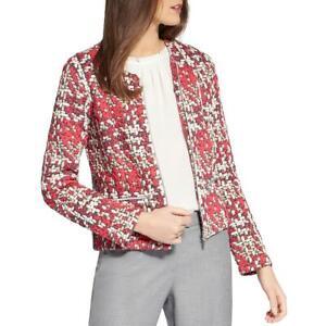 Basler Womens Plaid Tweed Jacket Blazer BHFO 0571
