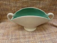 Vintage Large Upchurch Studio Pottery Twin Handled Planter a/f