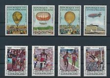 LM79942 Central Africa olympics hot air balloons fine lot MNH