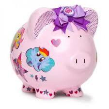 My Little Pony Best Friends Trio Piggy Bank