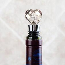 Hot Novelty Crystal Elegant Red Wine Bottle Stopper Reusable Vacuum Sealed Gift
