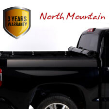 Black Soft Vinyl Lock & Roll-Up Tonneau Cover Assembly Fit 14-18 Tundra 5.5' Bed