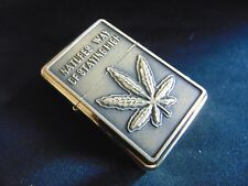 Hash Engraved Fuel STAR Gold Lighter With Gift Box - FREE ENGRAVING