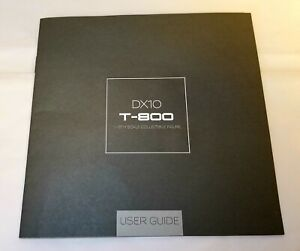 Hot Toys DX10 T-800 1/6 Scale Collectible Figure **User Guide ONLY** - US Seller