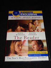 THE READER DVD (LIKE NEW)