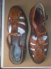 sandalias de cuero hechas a mano de Córdoba talla 45