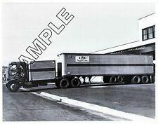 MACK H-61 1950s WILLIG FREIGHT LINES, California DROM BOX 8x10 B&W Glossy Photo