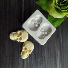 Skeleton Head Skull Silicone Cake Decoration Mold Pastry Baking Tools Q