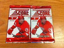 2x Lot 2012-13 Score Hockey 7-Card Pack Box Fresh Factory Sealed Torey Krug RC?