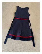 Womens Tenki Polka Dot Black Sleeveless Dress Size UK 12