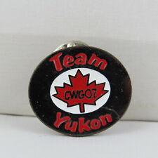 Juex Canada Winter Games Pin - 2007 Whitehorse Yukon -Team Yukon