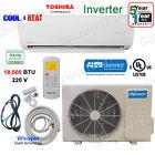 18000 BTU Ductless 16.8 SEER  Air Conditioner Heat Pump Mini Split 220V 1.5 Ton  photo