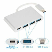 USB 3.1 Type-C to USB 3.0 HUB PD OTG Adapter Cable & USB-C Charging Port for MAC