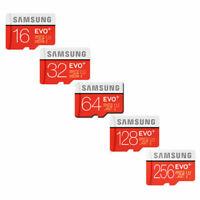SAMSUNG EVO PLUS MICRO SD SDXC CARD 32GB ADAPTER 100MB CLASS 10