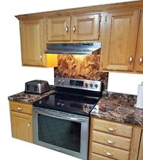 Countertop Paint? No! Instant Peel and Stick Granite UPDATE for Kitchen