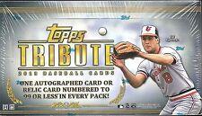 2013 Topps Tribute Factory Sealed Baseball Hobby Box  M Trout  B Harper AUTO  ??