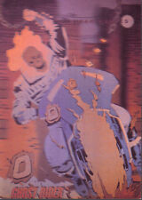 1992 Marvel Universe Hologram #H-5 Ghost Rider Insert Card NM/M Condition Impel