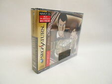 Lupin The 3rd Chronicles Brand NEW REF/2601 Sega Saturn Fujiko Ver Japan Game ss