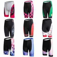 Damen Fahrrad Shorts Gepolstert Radsport Kurze Hose Radhose Lycra Shorts S-5XL
