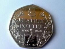 50p moneda Beatrix Potter