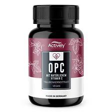 OPC Traubenkernextrakt + Vitamin C 180 Kapseln für 6 Monate hochdosiert Vegan