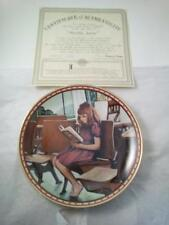 Norman Rockwell Worlds Away Plate Knowles Collectible Plate