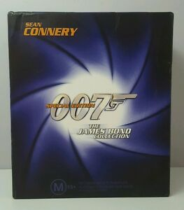 JAMES BOND 007 COLLECTION SPECIAL EDITION SEAN CONNERY VHS
