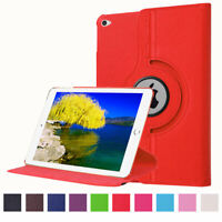 """For Apple iPad Pro 12.9""""Rotating 360 PU Leather Flip Kickstand Soft Case Cover"""