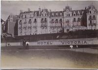Francia Biarritz Hotel Victoria Vintage Formato CDV Ca 1890