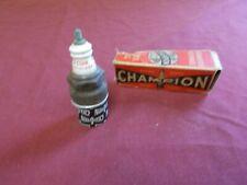 Box of NINE N-54R Champion Spark Plugs