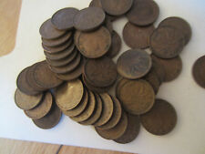 Roll of 1947 Canada Small Cents (50 Coins). SEMI KEY