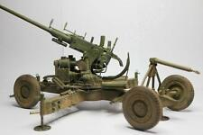 1/16 Scale Wwii Bofors 40 mm OQF Marks je AA Gun Model Kit (Découpe De Pièces) Neuf