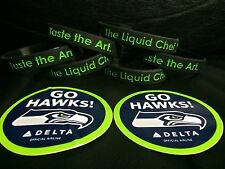 NEW ! LIMITED EDITION / 6 FUN - COOL BANDS (WITH 2 DELTA SEAHAWKS STICKERS)