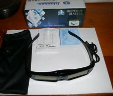 RF3D Active Rechargeable Glasses for Epson 3D Glasses ELPGS03 also Samsung Sony