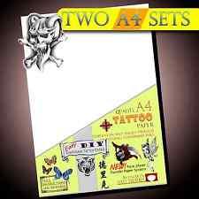 Nuevo Tatuaje Temporal Transferencia Papel-Película FX-Tatuajes de inyección de tinta 2set Impermeable