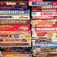 Vintage Board Games Lot - Includes 2-3 Games + Free Handmade Item, FREE SHIPPING