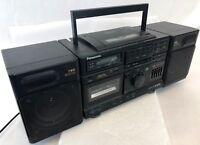 Vintage Panasonic CD Cassette Tape AM/FM Radio Break Dance Boom Box RX-DS620
