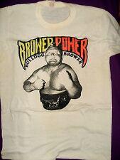 Vintage IWA Bulldog Brower Power T-Shirt (1975), Adult Size - Small, Worn