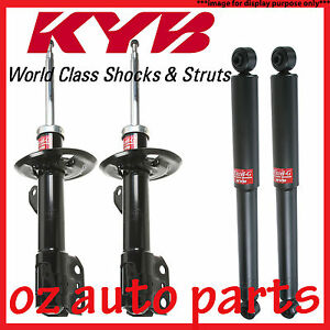 FRONT & REAR KYB SHOCK ABSORBERS FOR NISSAN MICRA K11 HATCHBACK 5/1995-12/1997