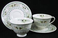 Royal Doulton PROVENCAL 2 Cup & Saucer Sets-  English China A+ CONDITION