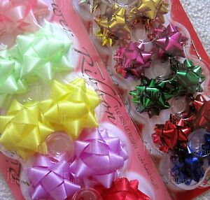 lot of 56pcs Assorted Small & Mini Flower Ribbon sticker for gift wrapping