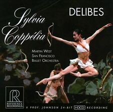 Delibes: Sylvia; Copp'lia (CD, Mar-2012, Reference Recordings)
