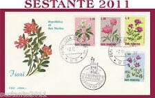 SAN MARINO FDC ROMA FIORI 1971 (136)