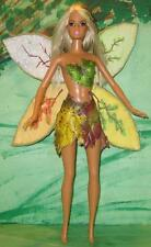 Seasons/Solstice Winter-Spring-Summer-Fall Fairy Faerie~OOAK Barbie Doll Repaint